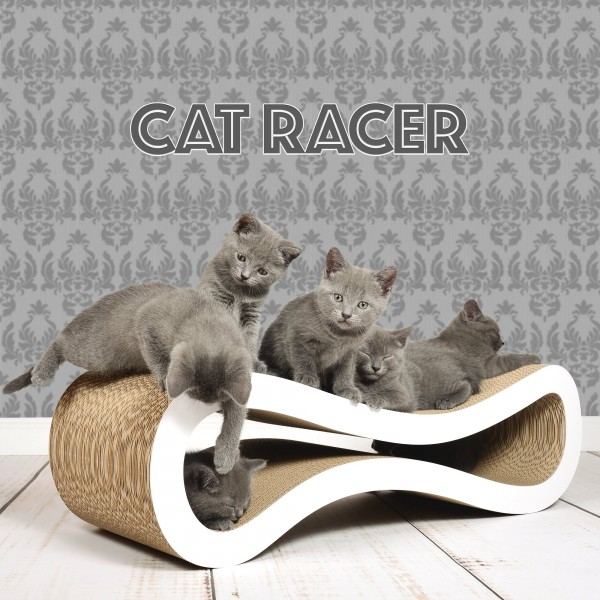 cat-on Kratzmöbel Cat Racer T-26cm